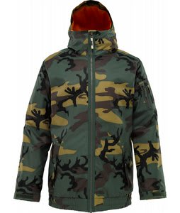 Burton Groucho Snowboard Jacket Sherwood Camo