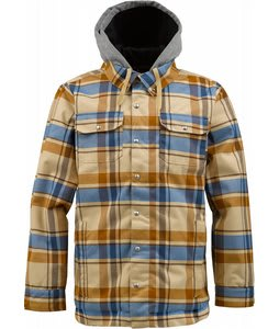 Burton Hackett Snowboard Jacket Burlap Riverside Plaid
