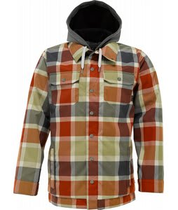 Burton Hackett Snowboard Jacket Bitters Ridelow Plaid