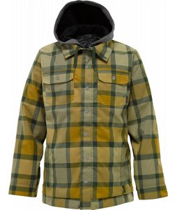Burton Hackett Snowboard Jacket Falcon Ridelow Plaid