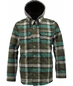 Burton Hackett Snowboard Jacket Keef Riverside Plaid