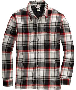 Burton Haven Sherpa Flannel Cardinal Handlebar Plaid