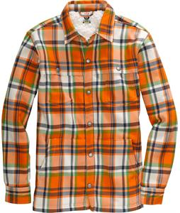 Burton Haven Sherpa Flannel Team Blue Handlebar Plaid