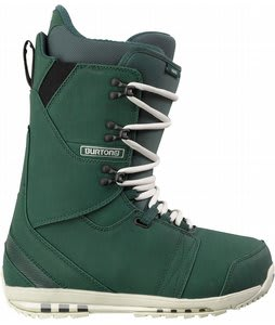 Burton Hail Snowboard Boots Forest Green/Bone