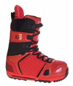 Burton Hail Snowboard Boots Red/Black