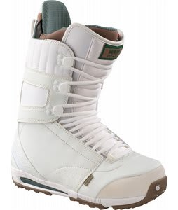 Burton Hail Snowboard Boots White/Tan/Green