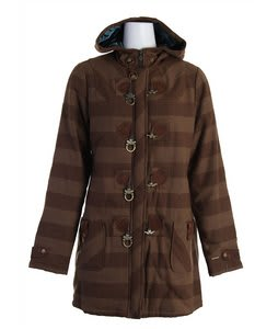Burton Harvard Coat Roasted Brn Tnl Hrgbn