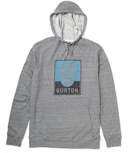 Burton Harvest Pullover Hoodie Heather Pewter
