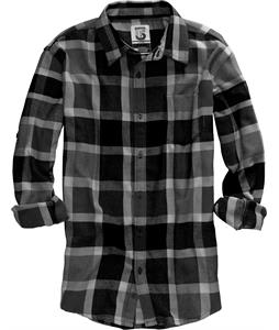 Burton Havoc Tech Flannel Shirt Ride Low True Black Plaid
