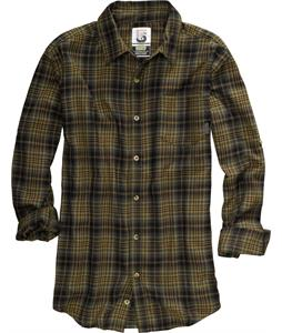 Burton Havoc Tech Flannel Shirt Sherwood Boxed Flannel Plaid