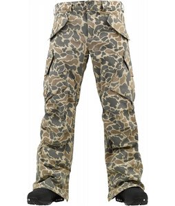 Burton Hellbrook Premium Snowboard Pants Duck Hunter Camo
