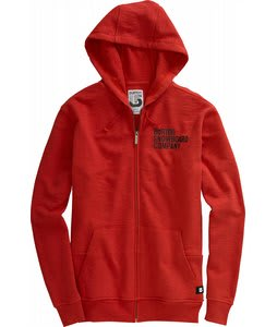 Burton Helmet Fullzip Hoodie Code Red