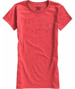 Burton Her Logo Scribble T-Shirt Heather Berry