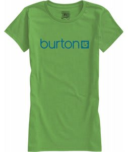 Burton Her Logo T-Shirt Heather Sweet Leaf