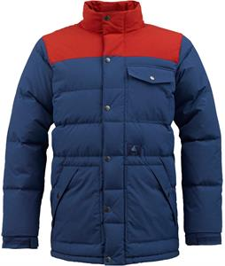 Burton Heritage Down Snowboard Jacket Atlantic/Red