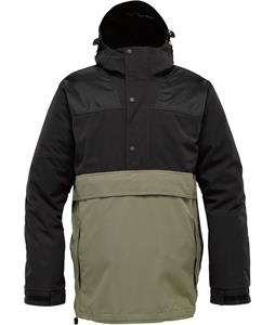 Burton Heritage Outland Anorak Snowboard Jacket True Black