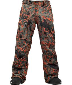 Burton Heritage Panel Snowboard Pants German Camo