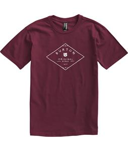 Burton Heritage T-Shirt Crimson