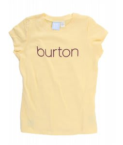 Burton Her Logo T-Shirt Banana