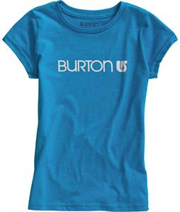 Burton Her Logo T-Shirt Heather Blue-Ray
