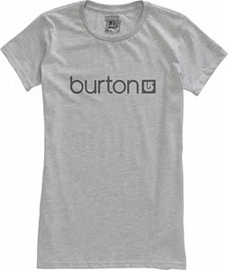 Burton Her Logo T-Shirt Heather Grey
