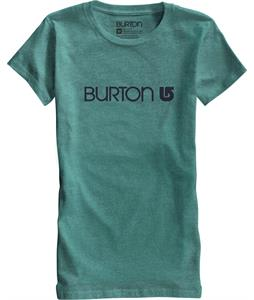 Burton Her Logo T-Shirt Heather Seaside