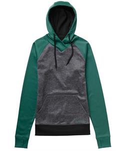 Burton Heron Pullover Hoodie Tidal Bore/True Black Heather