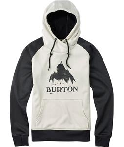 Burton Heron Pullover Hoodie Vanilla Heather/True Black Heather