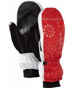 Burton Hi-Five Mittens Red Blue Nation