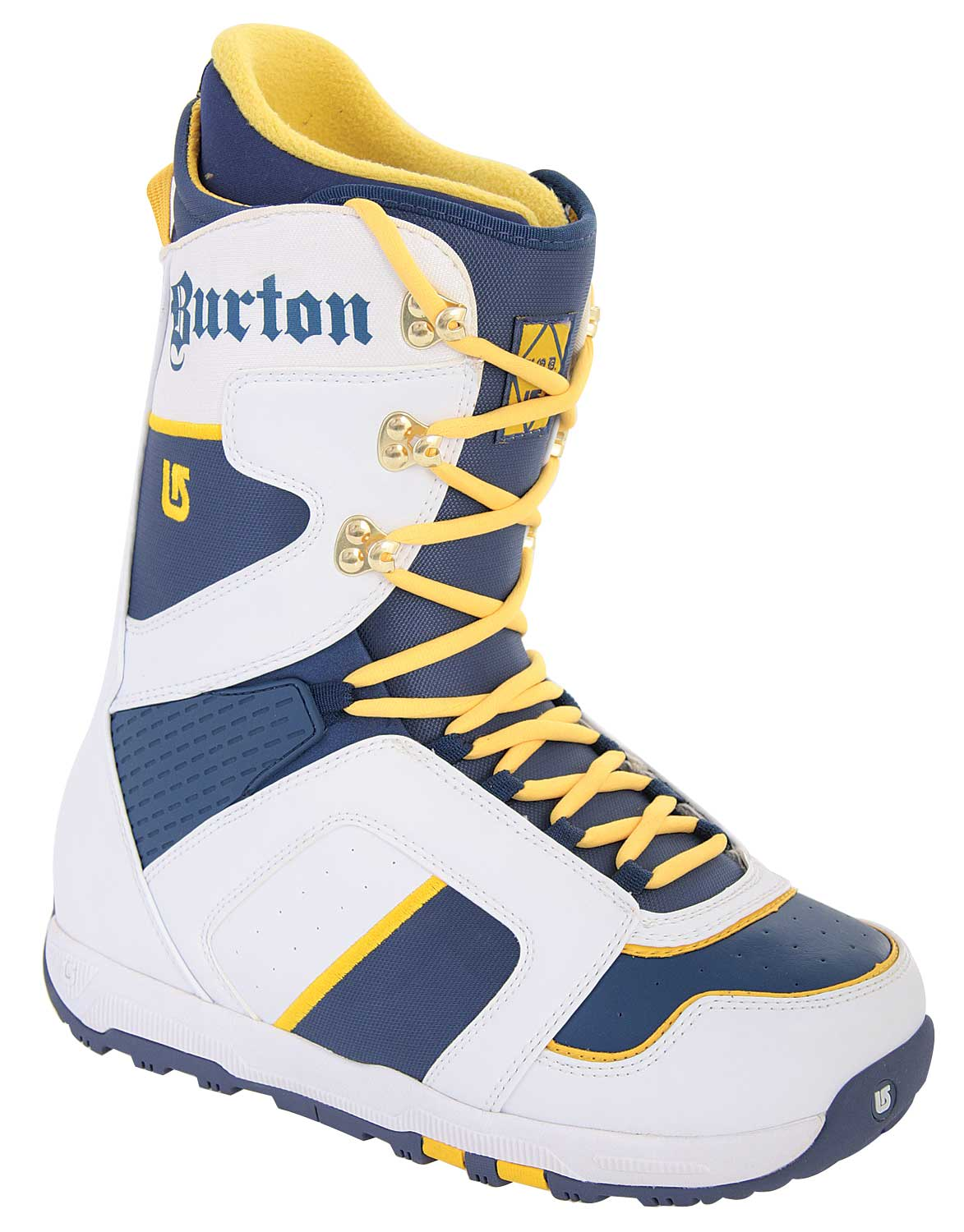 Shop for Burton Hod Snowboard Boots White/Blue - Men's