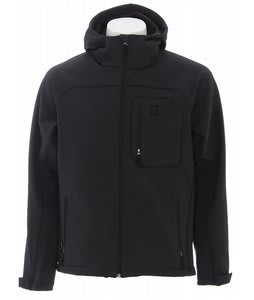 Burton Hook Softshell Snowboard Jacket Black