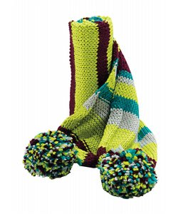 Burton Hot Chocolate Scarf Tropical Green