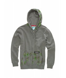 Burton Houndstooth Camo Fleece Castle Rock/Heather