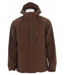 Burton Hybrid Snowboard Jacket Roasted Brown