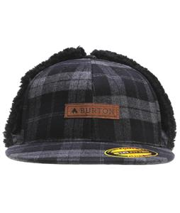 Burton I Beam Cap True Black Plaid