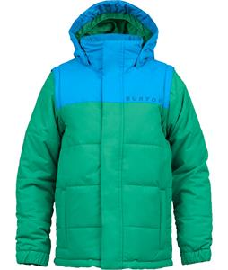 Burton Icon Puffy Snowboard Jacket Blue-Ray/Turf