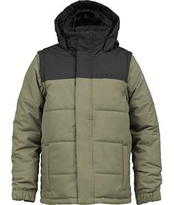 Burton Icon Puffy Snowboard Jacket True Black/Canteen