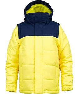 Burton Icon Puffy Snowboard Jacket Peeps/Atlantic