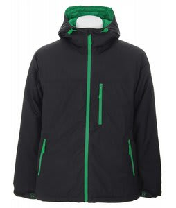 Burton Idiom Continuum Down Jacket True Black/Grn
