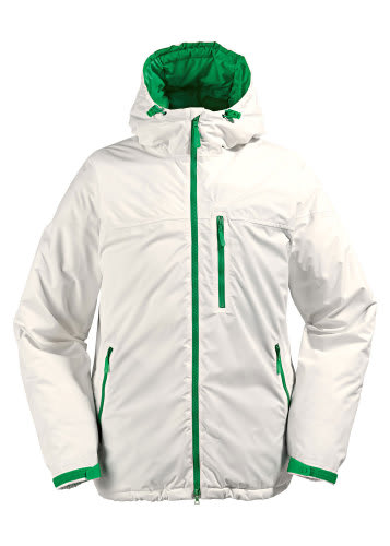 Burton Idiom Continuum Down Snowboard Jacket Bright White