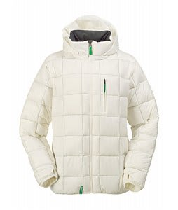 Burton Idiom Packable Down Snowboard Jacket Bright White