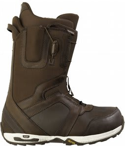 Burton Imperial Leather Snowboard Boots Brown/Bone