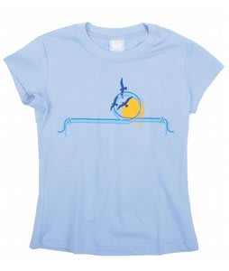 Burton Indian T-Shirt Baby Blue