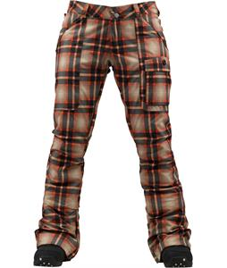 Burton Indulgence Snowboard Pants Fever Radiant Plaid