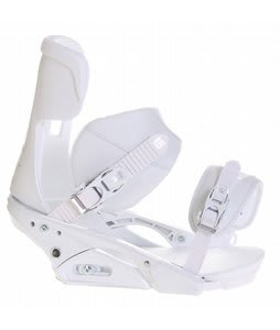 Burton Infidel Snowboard Bindings White