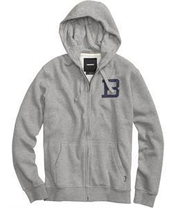 Burton Insignia Fullzip Hoodie Heather Grey