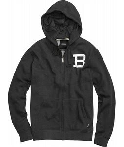 Burton Insignia Fullzip Hoodie Heather True Black