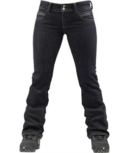 Burton Intrigue Denim Snowboard Pants Deep Blue Wash