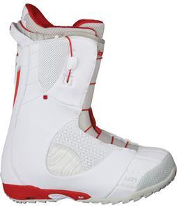 Burton Ion Snowboard Boots White/Red/Silver