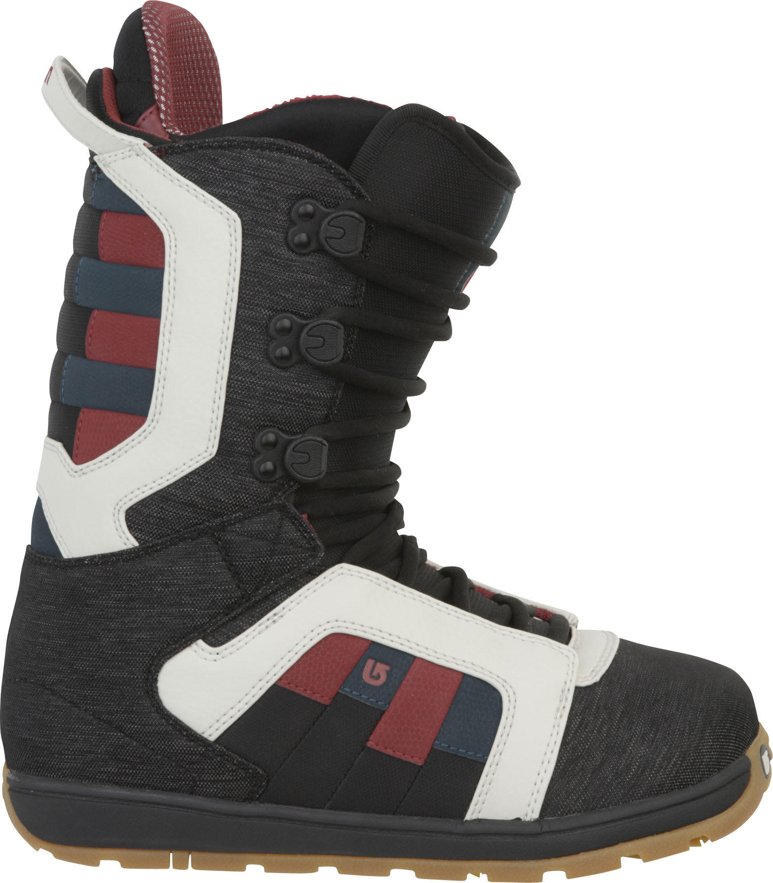 Shop for Burton Jeremy Jones Snowboard Boots Black Denim/Multi - Men's